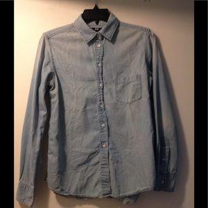 Uniqlo chambray shirt - medium
